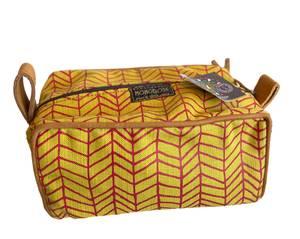 Bilde av Toalettmappe gul / rød - Misi Fishbone